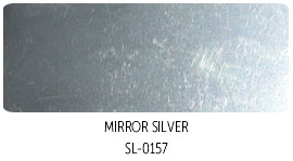 Mirror-silver-solvent-ink